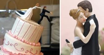 Se marier avec ironie : voici quelques-unes des figurines de mariage les plus drôles que vous ayez vues