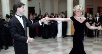 Ces rares photos immortalisent une timide Lady Diana avec des danseurs d'exception