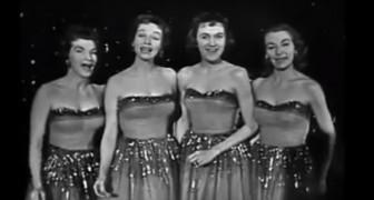 Ein kurioses Quartett sang dieses Lied vor 58 Jahren. Da macht Zuhören Spaß