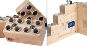 Costruire case vere con Lego giganti: l'idea rivoluzionaria di un ingegnere italiano