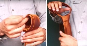 Il trucco definitivo per fare il nodo alla cravatta in meno di 10 secondi: eccolo qui!