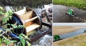 Ein Student erfindet eine Wasserpumpe die ohne elektrischen Strom funktioniert