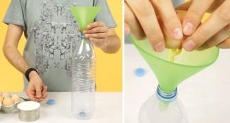 Veja como fazer crepes utilizando uma simples garrafa de plástico!