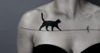 Non ami i tatuaggi? Queste versioni surrealiste ti faranno cambiare idea