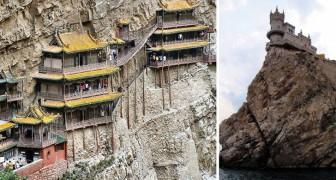 Irrsinniges aus der Geschichte: Einige der absurdesten Plätze, auf denen die Menschheit Bauwerke errichtet hat