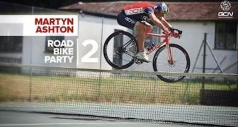 Cuando la bicicleta de carreras se convierte en acrobática