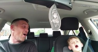 This father-son duo sing a Frank Sinatra song  --- they will glue you to the screen!