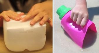 Asi es como puedes usar los viejos recipientes de detergentes en vez de tirarlos