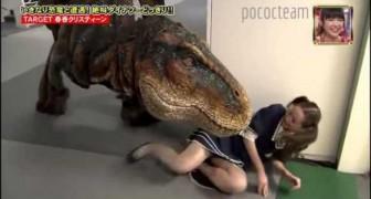 Perseguidos por un T-Rex