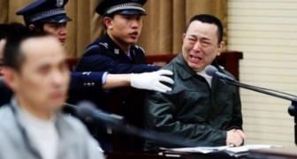 Hebben jullie een idee van de straf die de Chinese regering oplegt aan corrupte politici?