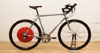 Copenhagen Wheel: La ruota che assiste la pedalata e vi consiglia il percorso meno inquinato della città