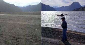 En Patagonie, un gigantesque lac a disparu en quelques heures, laissant les experts sans voix