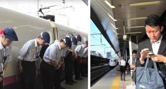 Lo chiamano il miracolo dei 7 minuti: ecco cosa avviene in Giappone quando un treno entra in stazione