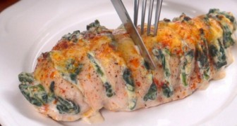 Here is a simple recipe for Hasselback Chicken --- absolutely irresistible!
