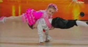 Zwei fantastische kleine Tänzer