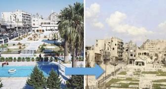 L'agonie d'Alep: voici les photos de la ville avant et pendant la guerre