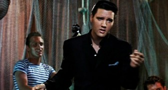 1962 color film brings to life --- the irresistible charm of the King of Rock 'n Roll