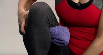Impara questo semplice e veloce esercizio per eliminare il fastidioso dolore al ginocchio