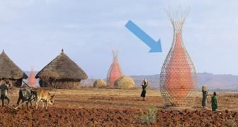 Ce château d'eau recueille jusqu'à 100 litres d'eau par jour : voici la brillante idée d' un architecte italien