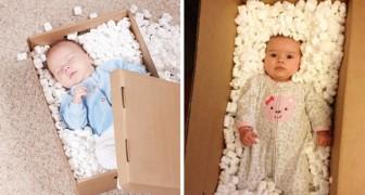 Ecco cosa avviene quando i genitori tentano di replicare le fotografie patinate...