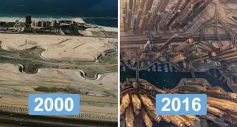 Il prezzo del progresso: gli impressionanti cambiamenti delle città più famose al mondo