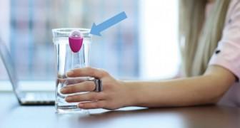 De meesten van ons drinken niet genoeg water: hier een eenvoudige maar ingenieuze oplossing