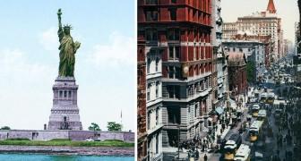 Immagini ricolorate del 1900: ecco New York agli albori della modernità odierna