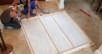 Usando uma cortina para o chuveiro... para criar uma decoração bonita e barata