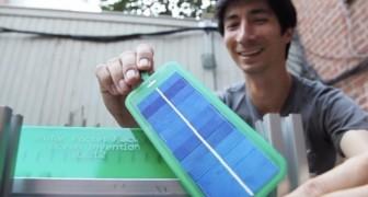 Veja a invenção que permite que você tenha painéis solares em seu próprio jardim!