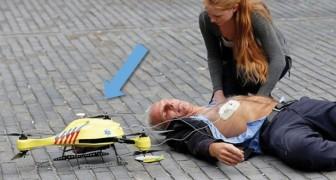 Portare soccorso in tempi record: il progetto del drone-ambulanza per le vittime di infarto