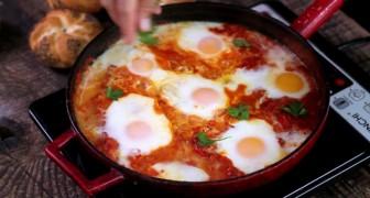 Shaskshuka, un plat oriental à tomber !