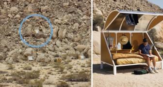 Campeggiare... come un alieno: il fascino incantevole di un luogo unico nel suo genere