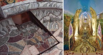 Una cattedrale esoterica sotterranea scavata e decorata a mano: un gioiello nelle colline piemontesi