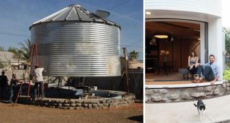 Una coppia acquista un vecchio silo per cereali e riesce a trasformarlo in una casa mozzafiato