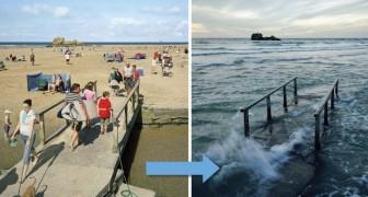 Vietato rilassarsi in spiaggia: ecco dei luoghi in cui la marea assume proporzioni epiche