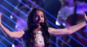 Only 14 years --- but when she reaches the highest note . . . Unbelievable!