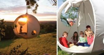Droomachtig Kamperen: Deze Tent Kan je Ophangen Aan Een Boom