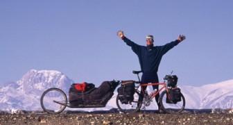Quest'uomo ha raggiunto l'Everest in bici, lo ha scalato ed è tornato a casa. In SVEZIA.