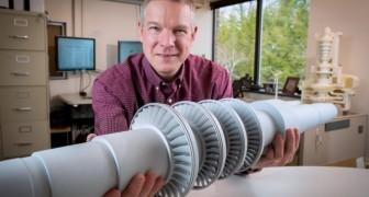 Gli scenziati progettano una nuova piccola turbina capace di dare energia a 10.000 case