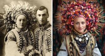 Ze Vonden Oude Bruiloftfoto's Van Oekraïense Vrouwen En Kregen Inspiratie: Het Resultaat Is Verbluffend