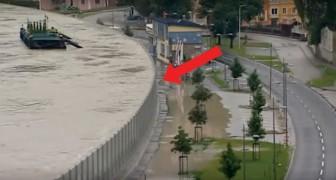 Estas son las paredes invencibles con la cual los austriacos se protegen de los aluviones