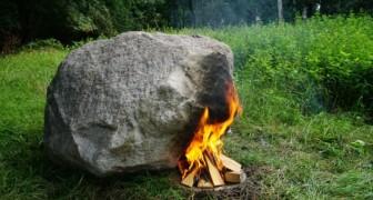 La roccia, il fuoco e... il WiFi: ecco il curioso progetto che li contiene tutti