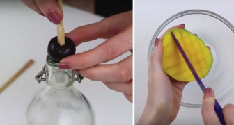 Met deze 6 geniale trucs schil je moeiteloos fruit zonder er een rommeltje van te maken!