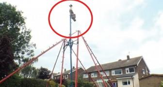 Monta no jardim de casa um balanço gigante: veja o que é capaz de fazer!