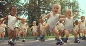 Spot Evian Baby Dance