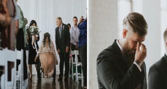 Un accident avait compromis son bonheur mais le jour de son mariage, elle a réussi l'impossible