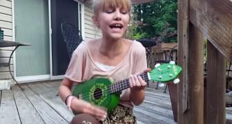 Den här tjejen har fått uppmärksamhet världen över: när ni hör henne sjunga så kommer ni att förstå varför