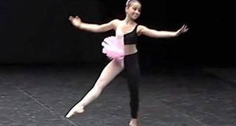 Een contrasterende outfit en een contrasterende muziek: het optreden van dit 14-jarige meisje is onvergetelijk!