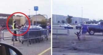 Ein Affe mit einer Windel erscheint auf dem Parkplatz: dieser Vorfall verbirgt eine traurige Wahrheit