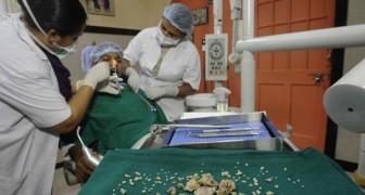 Aufgrund von massiven Zahnschmerzen kommt er ins Krankenhaus... das was die Zahnärzte dann entdecken ist Guinnes-verdächtig!!
